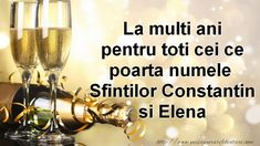 Sf Constantin, White Wine, Alcoholic Drinks, Projects To Try, Happy Birthday, Thoughts, Happy Brithday, Urari La Multi Ani, White Wines