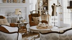 What's the trick to a magazine-worthy home done up in flea market finds? Defining your specific flea market style. Watch and learn about different styles and find a flea look you'll love./