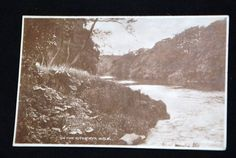UK ENGLAND River AYR 1920-th old PC Valentine's series photo c11