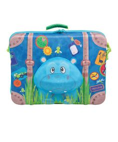 Hippo Suitcase by Wildpacks on #zulily