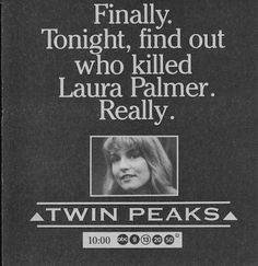 Laura Palmer walks with me