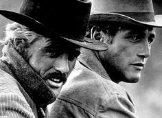 Robert Redford and Paul Newman (Butch Cassidy and the Sundance Kid); loved Bobby R so much when I was young! And oh those Paul Newman eyes could melt anyone's heart. Sundance Kid, Hollywood Stars, Classic Hollywood, Old Hollywood, Hollywood Knights, Paul Newman Robert Redford, Katharine Ross, Films Cinema, Men Are Men