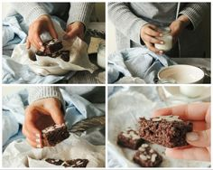 Brownies allo yogurt - gluten free , eggs free 3