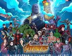Indonesian Artist Collaboration Avenger Infinity War 2018