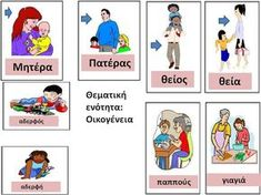 Welcome September, September Crafts, Greek Language, School Lessons, My Family, Activities For Kids, Kindergarten, Education, Comics