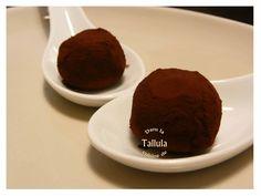 Truffes menthe chocolat