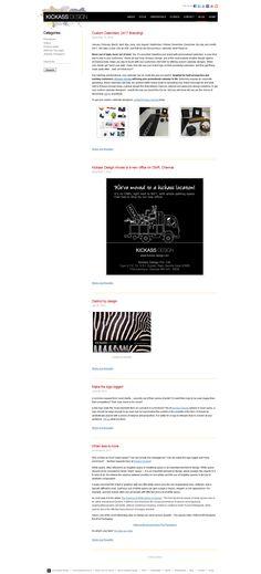 Kickass Design - Blog Design