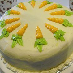 Alton Brown's Carrot Cake on BigOven: If it's good enough for Alton, it's good enough for me! Alton Brown Carrot Cake Recipe, Brown Recipe, Cupcake Recipes, Cupcake Cakes, Dessert Recipes, Desserts, Cupcakes, Wine Recipes, Food Network Recipes