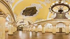 Estación de Komsomolskaya (Moscú, Rusia)