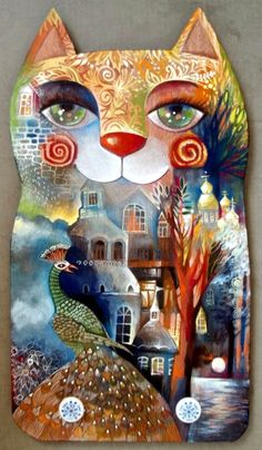 CAT by oxana zaika on ARTwanted