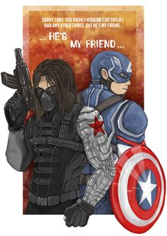 Captain  America-Winter Soldier by Manuel J. Iniesta…