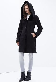 Gita Sheepskin Coat from Celtic & Co | STYLE: INSPIRATION