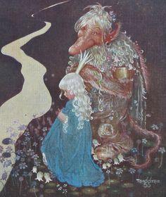 """by GUSTAF TENGGREN from """"Bland Tomtar och Troll"""" 1923   eBay"""
