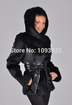 6f1dfdfa0f Black leather belt with artificial fur jacket/coat - Fekete műbőr öv  műszőrme kabáthoz Szőrmekabát