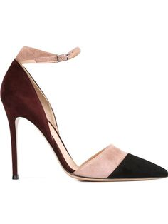 Shop Gianvito Rossi colour block pumps  in Biondini Paris from the world's best independent boutiques at farfetch.com. Shop 300 boutiques at one address.