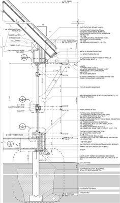 Sustainable House cross section:: Kaplan Thompson Architects