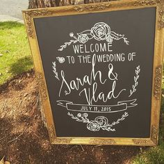 fabulous vancouver wedding Congratulations Sarah & Vlad! Frame & calligraphy done in-house by @bespokedecor 💗  #vancouverwedding #vancouverweddingstationery #vancouverwedding