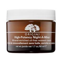 Rank & Style - Origins High-Potency Night-A-Mins Mineral-Enriched Oil-Free Renewal Cream #rankandstyle