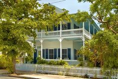 Key West house rental - The Captain's Mansion on Fleming