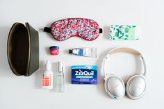 Here's a little peek at what I pack in my carry-on bag for flights, no matter how long or short the flying time.