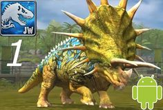Jurassic World: The Game E01 Walkthrough GamePlay Android Game  Jurassic World: The Game Ludia Inc. Colossal update: THE LAGOON!! Return to Isla Nublar with the creators of the smash hit Jurassic Park Builder for your next adventure: Jurassic World: The Game the official mobile game based on this summers epic action-adventure. Bring to life more than 50 colossal dinosaurs from the new film and challenge your opponents in earth-shaking battles. Construct the theme park of tomorrow in this…