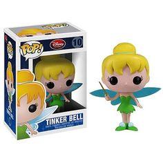 Peter Pan Tinker Bell Pop! Disney Pop! Vinyl Figure : Forbidden Planet