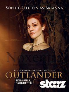 Sophie Skelton as #BriannaRandallFraser on #Outlander #deviantart