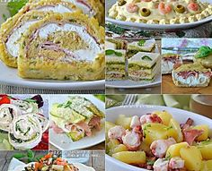 Antipasti freddi ricette facili e veloci Appetizer Buffet, Easter Appetizers, Appetizer Recipes, Easy Dinner Recipes, My Recipes, Favorite Recipes, Fingers Food, Good Food, Yummy Food