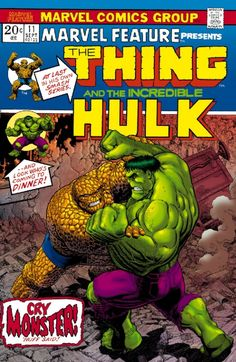Art Adams Hulk VS Thing for Hero Comics Comic Art