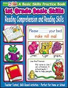 1st Grade Basic Skills: Reading Comprehension and Reading Skills. Download it at Examville.com - The Education Marketplace. #scholastic @Karen Jacot Jacot Echols #teachers #teaching #elementaryschools #teachercreated #ebooks #books #education #classrooms #commoncore #examville