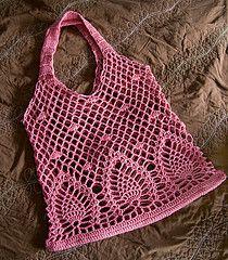 Ravelry: p.5 Pineapple Bag pattern by Sachiko Hazama (羽間幸子)