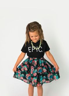 EPIC. The perfect way to describe your little monster. Add a pair of leggings, shorts, or skinny jeans and your little one will look adorable sipping that Icee while you browse the selection at Target