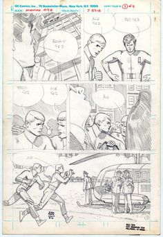 toth-pencils for a challengers story Comic Book Layout, Comic Book Pages, Comic Page, Comic Book Artists, Comic Artist, Comic Books Art, Book Layouts, Alex Toth, Comic Tutorial