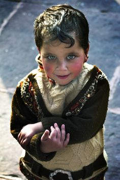Little Boy from Delhi, India