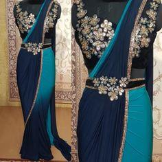 Saree Gown, Lehnga Dress, Lehenga, Half Saree Designs, Saree Blouse Designs, Stylish Dresses For Girls, Modest Dresses, Dress Indian Style, Indian Outfits