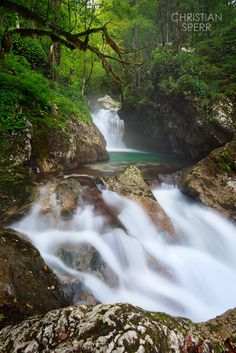 Opal Creek - Water falls on the Little North Fork Santiam River, Oregon, USA Landscape Photography, Nature Photography, Long Exposure, Oregon Usa, River, Waterfalls, Fork, Opal, Landscapes
