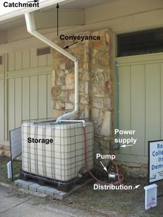 """Acquire great suggestions on """"rainwater harvesting - Amenagement Jardin Recup 1001 Palettes, Alabama, Water From Air, Rainwater Harvesting System, Water Collection, Water Storage, Water Conservation, Water Systems, Hydro Systems"""