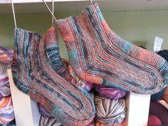 Around the bend socks