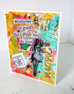 Mixed Media with Stampinback