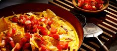 Lovely Breakfast Nachos made with Sabra Salsa Breakfast Nachos, Breakfast Recipes, Chips And Salsa, Food Photo, Spice Things Up, Brunch, Cooking Recipes, Favorite Recipes, Recipes