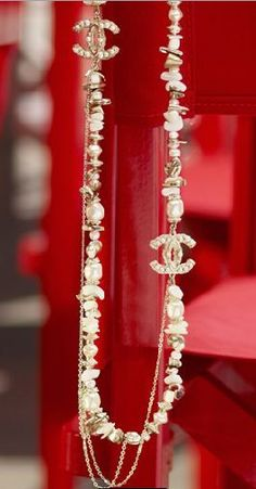 Chanel double strand pearl necklace chanel.com My Next Big Purchase.