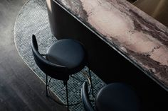 Poodle Bar & Bistro in Melbourne by Bergman & Co | Yellowtrace Melbourne Bars, Melbourne Restaurants, Café Restaurant, Restaurant Design, Stained Brick, Checkerboard Floor, Drinks Tray, Private Dining Room, Victorian Terrace