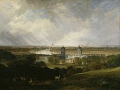 London from Greenwich Park (1809) / by Joseph Mallord William Turner