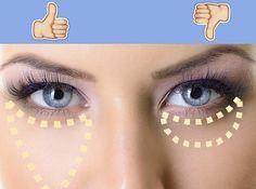 16 Trucos que puedes hacer con corrector de ojos y que facilitarán tu vida