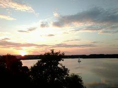 Sonnenuntergang am Mattsee