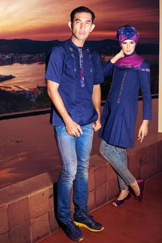 Navy #Couple #chic and elegant design
