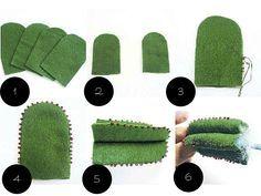 Glue Crafts, Felt Crafts, Diy Crafts, Suculentas Diy, Cactus Craft, Felt Succulents, Plant Crafts, Felt Baby, Flower Template