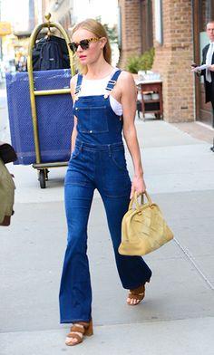Kate Bosworth in denim tuinbroek <3 it!