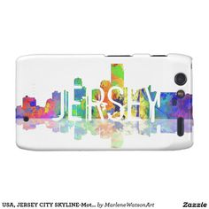 USA, JERSEY CITY SKYLINE-Motorola Droid RAZR Cover Droid RAZR Cover
