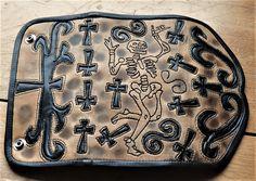 Wallet Dancing Dead Scroll